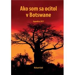 Kniha Ako som sa ocitol v Botswane